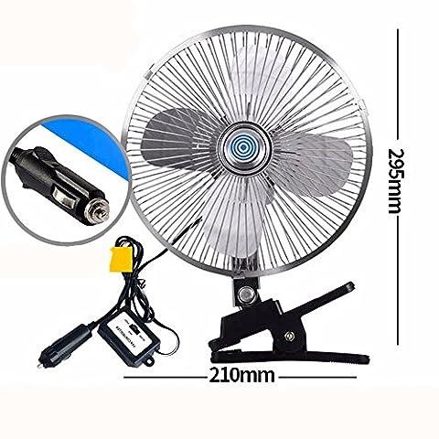 Auto-Ventilatoren/Energien-Kühlgebläse/stummes Ventilator/Auto-Zusätze,8 Zoll 24v Metall vier Blatt