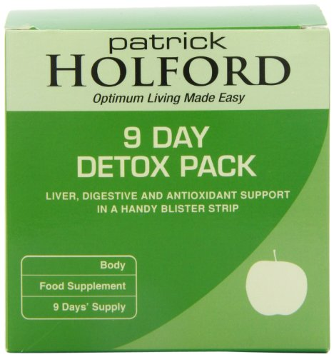 51fQwjafaPL - BEST BUY #1 Patrick Holford Detox 9 Days Pack Reviews uk