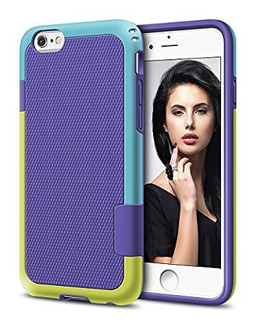 Coque iPhone 6s, LoHi Coque iPhone 6 de Protection en TPU Anti-Chocs Dur Housse Extreme Résistant au Glissement Bumper Cover pour Apple iPhone 6 6s 4.7