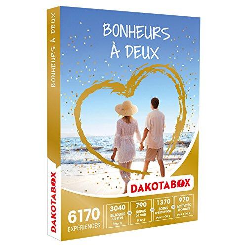 DAKOTABOX - Coffret Cadeau - BONHEURS À DEUX - activités pour savourer un moment à...