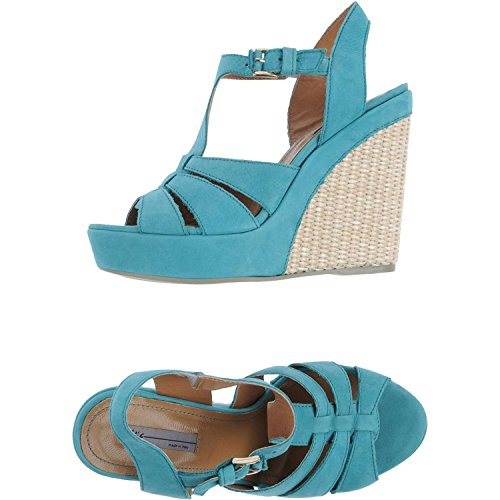 Vic , Sandales pour femme Bleu Azzurro Bleu - Azzurro