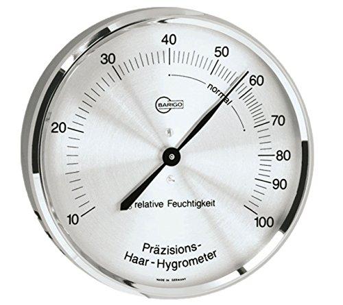 Barigo Haar-Hygrometer Metallgehäuse Ø 8,5cm