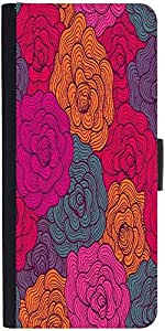 Snoogg Seamless Hand Drawn Waves Texture Designer Protective Flip Case Cover ...