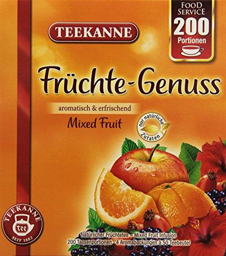 Teekanne Früchte-Genuss, 1er Pack (1 x 400 g)