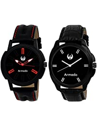 Armado AR-1522 Combo Of 2 Graceful Analog Watches-For Men