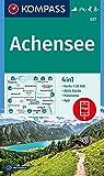 Achensee: 4in1 Wanderkarte 1:35000 mit Panorama und Aktiv Guide inklusive Karte zur offline Verwendung in der KOMPASS-App. Fahrradfahren. Skitouren. Langlaufen. (KOMPASS-Wanderkarten, Band 27)