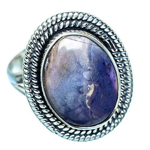 Tiffany Stone, Tiffany Stein 925 Sterling Silber Ring 9 (Tiffany Silver Ring)