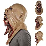 JIBO Mascarilla De Resina para Hombre Máscara De Látex De Halloween con Terrorífico Estilo Charlie Disfraz De Halloween Disfraz De Diablo Festival