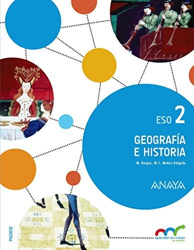 Geografía e Historia 2. (Aprender es crecer en conexión) - 9788469814710 por Manuel Burgos Alonso