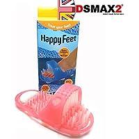 Happy Feet reinigt ex-foliates und massages mit Bimsstein, Rosa preisvergleich bei billige-tabletten.eu