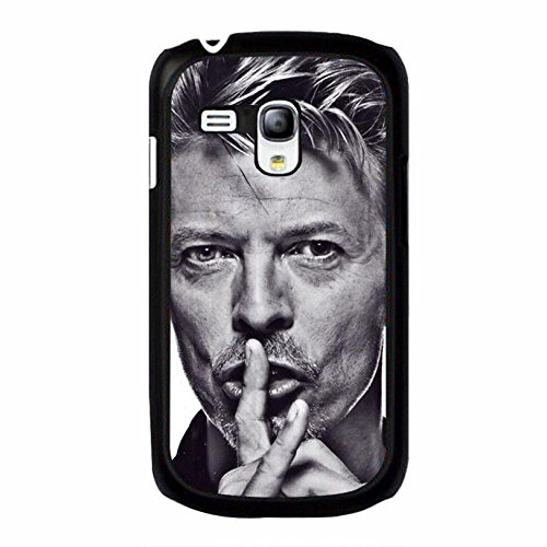 Coque Samsung Galaxy S3 Mini Cover Shell Cool Elegant GlamRock style Musician David Bowie Phone Case Cover Great Singer Perfect,Cas De Téléphone
