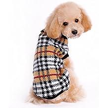 Mascotas suéter invierno lana perro elegante del perrito alta calidad de la traje caliente ropa de abrigo (XL)