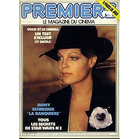 PREMIERE N°41 Magazine - 1981 - Romy