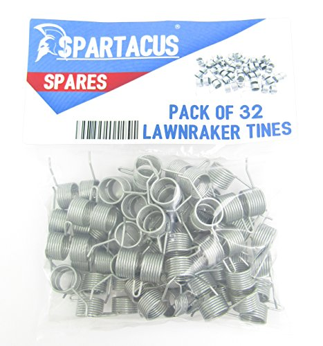 32 x Spartacus Replacement Lawn Raker Scarifier Tines Tynes For Atco F016T47920 Test