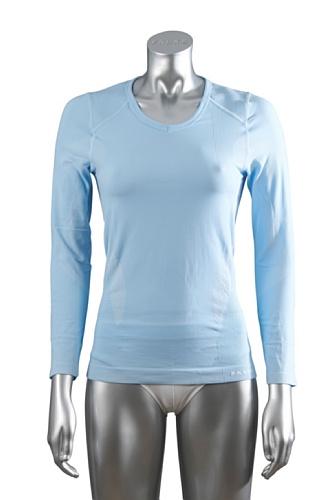 Falke 35161 Maillot de corps de trek à manches longues pour femme Aqua - Bleu ciel