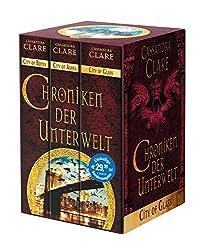 Chroniken der Unterwelt: Ciry of Bones. City of Ashes. City of Glass