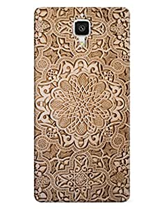 FurnishFantasy 3D Printed Designer Back Case Cover for Xiaomi Mi4