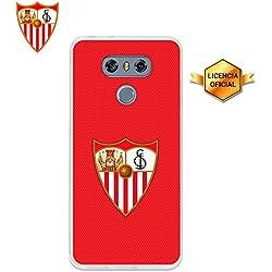 Funda Gel Flexible Sevilla F.C. para LG G6, Carcasa TPU, protege y se adapta a la perfección a tu Smartphone. Licencia oficial Escudo 3.