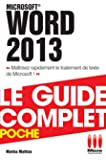COMPLET POCHE£WORD 2013