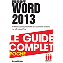 COMPLET POCHE WORD 2013