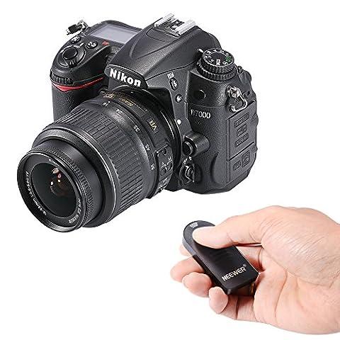 Neewer® IR Wireless-Fernbedienung Auslöser ML-L3 für Nikon D5300, D3200, D5100, D7000, D600, D610, P7000, P7100, Nikon J1, V1, Nikon 1 AW1 D40, D40x, D50, D60, D70, D70S, D80 , D90, D3000, D5000, F55, F65, F75, N65, N75, Coolpix 8400, 8800 Pronea S, Nuvis S & Lite Touch Zoom-Kameras(2
