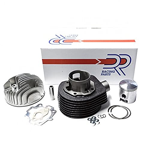Zylinder / Kit DR 135 ccm für Vespa P80X PX 80 / E Lusso & PX 100, für 48mm Hub, Ø 60mm (inkl. Zylinderkopf)