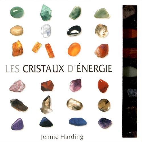 Les cristaux d'énergie - 7 cristaux + 1 livre explicatif par Jenny Harding