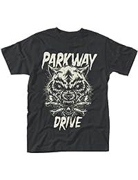 Plastic Head Men's Parkway Drive Wolf & Bones T-Shirt