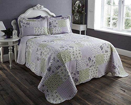 t/Überwurf für & Kissenhüllen Bettwäsche-Set, Überwurf (Bett-set Lavendel)