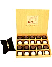 DEARCO CHOCOLATIER CHOCOLATE GIFT BOX, RAKHI CHOCOLATE For BROTHER, Luxury Rakhi Gift, PREMIUM RAKHI GIFT CHOCOLATES... - B073ZMQJ67