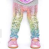 zooarts Regenbogen-Leggings, für Kleinkinder (1-6 Jahre), Partykostüm, multi, 100 (2-3T)
