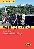 Was ist los in China?: Einige Wurzeln und Aspekte eines Aufstiegs
