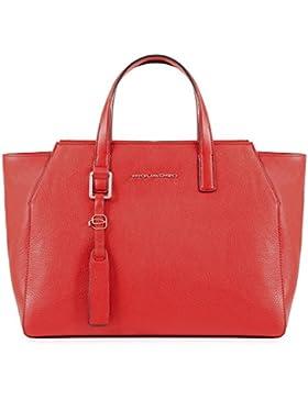 Piquadro Damen Bd4326mu Tote-Bag, 15.5 x 25 x 33 cm