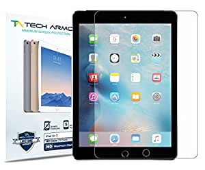 Tech Armor Apple iPad Air 2 / iPad Air (first generation) High Defintion (HD) Clear Screen Protectors -- Maximum Clarity and Touchscreen Accuracy [2Pack] Lifetime Warranty Color: HD Clear, Model: SP-HD-APL-ID5-2, PC / Computer & Electronics