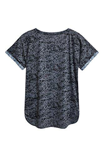 next Donna T-Shirt con Cicogna Nero