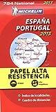 Espana Portugal, papel alta resistencia/Espagne Portugal, indéchirable : 1/1 000 000