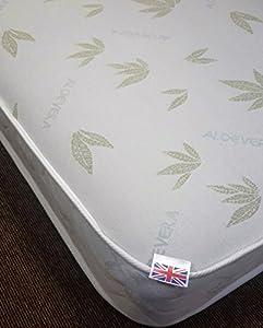 Aloe Vera Memory Foam Sprung Mattress all sizes available FBAV