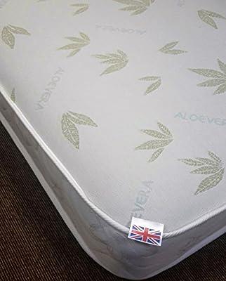 Capital Beds Aloe Vera Memory Foam Sprung Mattress FBAV