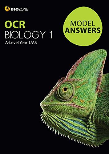 Model Answers OCR Biology 1 (Biology Student Workbook)
