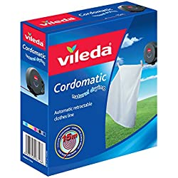 Vileda Cordomatic Retractable Clothes Line, 15 m