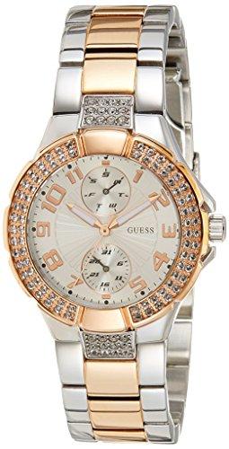 GUESS Analog Silver Dial Women's Watch - W15072L2 image