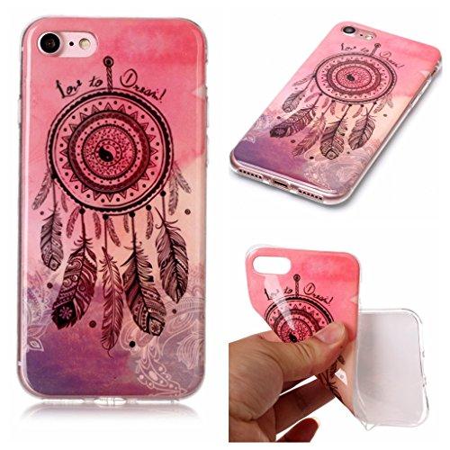 Per iPhone 7 / iPhone 8 Cover , YIGA macchina fotografica Cristallo Silicone Morbido TPU Case Shell Caso Protezione Custodia per Apple iPhone 7 / iPhone 8 (4,7 pollici) A10