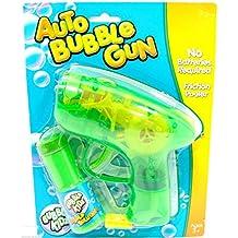 Auto burbuja arma de fricción poder burbuja pistola pistola arma de juguete burbuja fabricante pistola