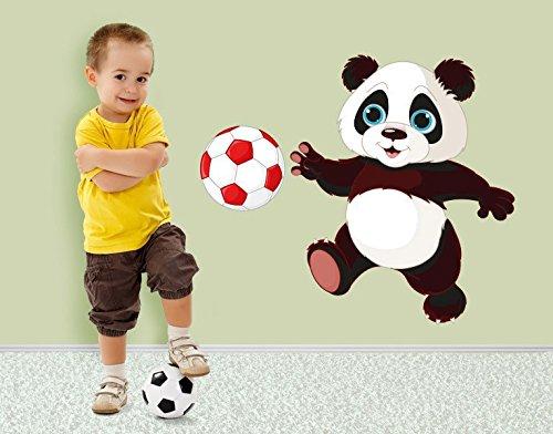 ker Fußball Panda B x H: 50cm x 43cm ()