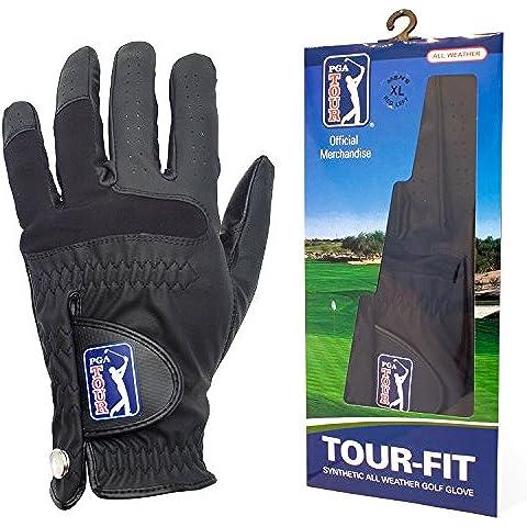 PGA Tour PGAT46ML - Guante sintético de golf, talla S / M