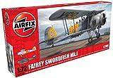 Airfix- Maquette-Fairey Swordfish MK I, A04053A, Echelle 1/72