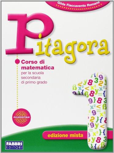 Pitagora. Con prove INVALSI. Per la Scuola media. Con espansione online: 1