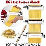 Set confeccionador de Pasta accesorio para Kitchenaid 5KSMPRA. Accesorio ORIGINAL Kitchenaid con 2 AÑOS DE GARANTÍA ESPAÑOLA