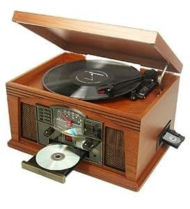 ricatech rmc200 cambridge tourne disque lecteur cd. Black Bedroom Furniture Sets. Home Design Ideas