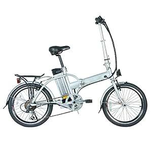 fenetic stowaway compact folding electric bike e bike with. Black Bedroom Furniture Sets. Home Design Ideas